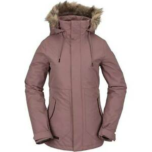 Volcom Fawn Insulated Jacket Rose Wood - XSmall
