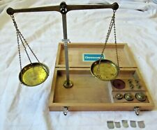 Vintage Gesswein Brass Balance Beam Jewelers Scale - Made in West Germany