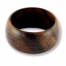 Design Ring Goa Holz Wood Natur Organischer Schmuck AR021