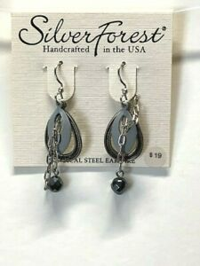 Silver Forest Handcrafted in the USA Earrings NEW (A7)