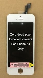 Genuine Quality Replacement Lcd Touch Screen For Original iPhone 5s White