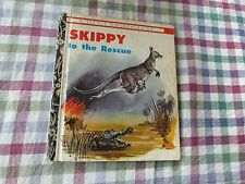 VINTAGE LITTLE GOLDEN BOOK - SKIPPY TO THE RESCUE . GOLDEN PRESS SYDNEY