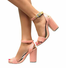 Leather Floral Formal Heels for Women