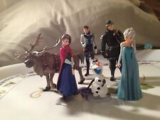 Frozen Elsa Anna Olaf Gift Toy Set Doll Cake Topper U.S. Seller  Holiday Fun!