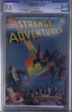 Strange Adventures #2 Simcoe 1950-51 CANADIAN EDITION CGC 7.5 (VERY FINE -)