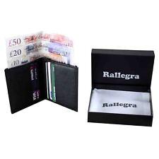 Slim Card Holder Mens Wallet RFID Includes Gift Bag
