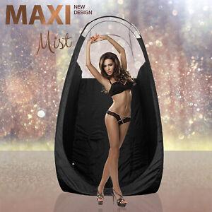 Maximist - Noir Spray Tan Tente/Pop-Up Cabine - Transparent Vue Édition