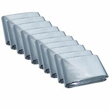 50 PACK - Emergency Mylar Blanket Survival Safety Insulating Thermal Heat
