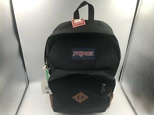 "NEW JanSport Genuine City View Backpack Black 15"" Laptop Sleeve"