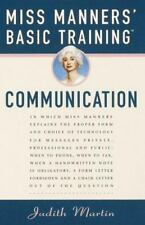 Miss Manners' Basic Training: Communication, Martin, Judith, Good Condition, Boo