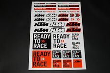 KTM ADESIVO STICKER DECAL bapperl Bomb READY TO RACE Duke Cross > arco < EXE