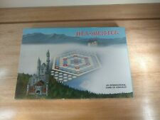 HEX-MEISTER Strategy Game BY W.M. Helvey 1980. Complete, Great condition.