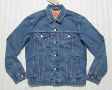 LEVI'S Mens Medium Blue Wash Denim Trucker Jean Jacket 72334-0156