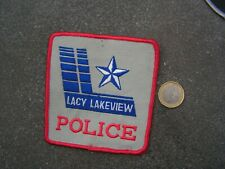 PATCH POLICE ECUSSON COLLECTION  USA   police lacy lakeview