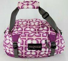 """Jansport Purple/Pink Duffle Bag Shoulder Travel/Gym Bag - 22.5"""" x 12"""" x 10.5"""""""