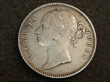 1840 East India Company Queen Victoria Rupee VF details