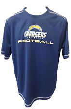 San Diego Chargers Football Short Sleeve Performance T-Shirt Navy New