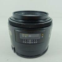 Minolta 50mm F/1.7 AF Prime Lens Sony for SLR SLT A99 A77 A68 A58 A57 A33 A350 +