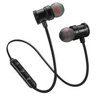 Auriculares Magnetico Inalambrico Bluetooth 5.0 Auricular Estereo Para Colg V7B9