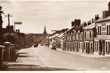 FOUNTAIN STREET ANTRIM IRELAND RP IRISH POSTCARD by D. CONSTANCE LTD No. 6685