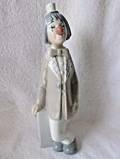 CASADES MADE IN SPAIN PORCELAIN CLOWN FIGURINE BOW TIE 10""
