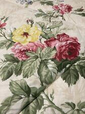"""Laura Ashley HTF RARE """"Jillian"""" Comforter King 91"""" X 104"""" French Country Cottage"""
