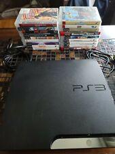 Sony PlayStation 3 Slim 160GB Console + 16games  1 controller