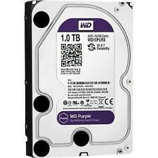 "1TB 3.5"" WD Hard Drive Western Digital Purple Surveillance Security DVR WD10PURX"