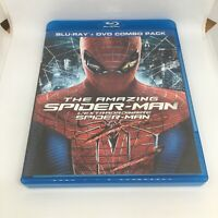 The Amazing Spider-Man (Blu-ray/DVD, 2012, 3-Disc Set, Canadian)