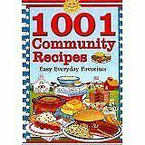 1001 Community Recipes Paperback Cookbook Resources