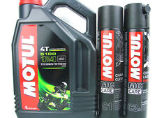 4 Litros Motul 5100 10w-40 10w40 + CHAIN CLEANER C1 + CHAINSPRAY C2 + CADA 400ml