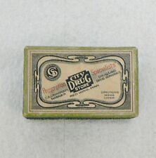 OLD RED WING DRUG STORE PRESCRIPTION BOX