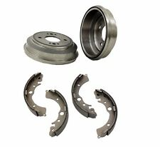 NEW Honda Civic 1995 Set of 2 Brake Drums and Drum Brake Shoe OpParts / Enduro
