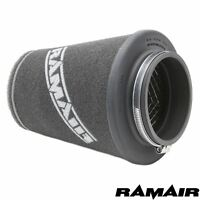 RAMAIR INDUCTION FOAM CONE AIR FILTER UNIVERSAL 70mm NECK HAND MADE IN THE UK