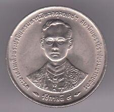 Thailand 1 Baht 1996 Copper-Nickel Coin King Bhumibol Adulyadej 50th Anniversary