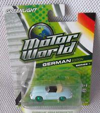 PORSCHE 356A SPEEDSTER GREENLIGHT Motor World Edition#7 GREEN MACHINE CHASE 1/55