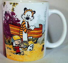 Calvin and Hobbes - Coffee MUG - CUP - Personalised - Gift - art