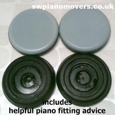 Tazas de ricino Piano magiglide (mgsw 0060) 4 X 60mm, tazas de baja fricción deslizamiento