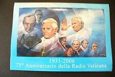 POCHETTE CARTES POSTALES DU VATICAN PRE TIMBRÉE 2006 - A COLLECTIONNER  !!!