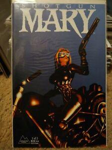 Shotgun Mary #1 Antarctic Press 1995, Near Mint