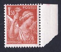 VARIÉTÉ- N°652  ( FRANCAIS - Manque le E ) type IRIS -NEUF **