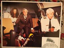 Airplane 1980 Paramount lobby card Leslie Nielsen Peter Graves