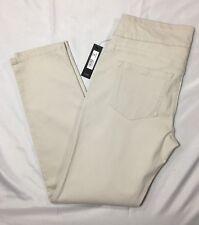 Kardashian DASH Pants Sz 8 Sand Beige Stretch Elastic Comfort Waistband Pull On
