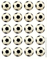 Football Stickers - 120 pieces - Soccer Party Invite Seals Decorations Favours