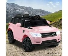 Kids Girls Toy Ride on Electric Car Twin Motors 50W 12V Battery 3-8KPH MP3 Pink