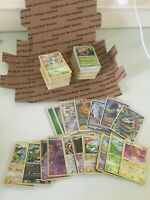 POKEMON BOX CARDS FROM COLLECTION - 150 VINTAGE, 150 NEW HOLOS, RARES