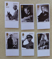 2017 JERSEY LEGACY OF QUEEN VIC KING GEORGE VI SET OF 6 MINT STAMPS