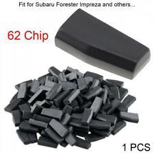 Blank 4D62 /4D ID62 Car Key FOB Transponder Chip Fit for Subaru Forester Impreza