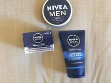 NEW Nivea Men Protect & Care Face set, Face wash, Intensive moisturiser & Creme