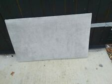 Single 3ft Bed Headboard in Grey.Preowned item